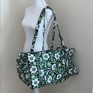 Vera Bradley Lucky You Duffle Travel Bag!
